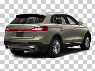 2018 Lincoln MKX Car Sport Utility Vehicle Ford Motor Company PNG