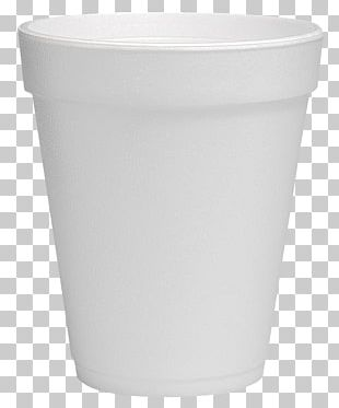 Lid Plastic Flowerpot Cup White PNG