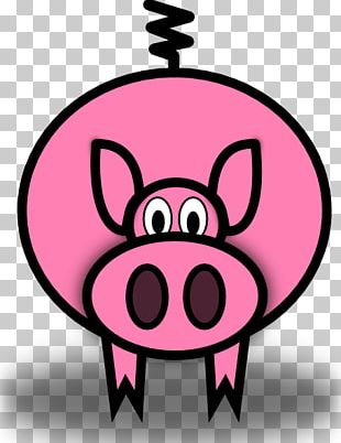 Domestic Pig Pig Roast The Three Little Pigs PNG