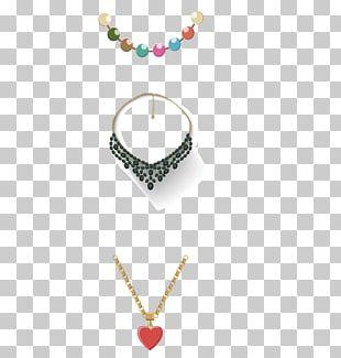 Necklace Gold Euclidean PNG