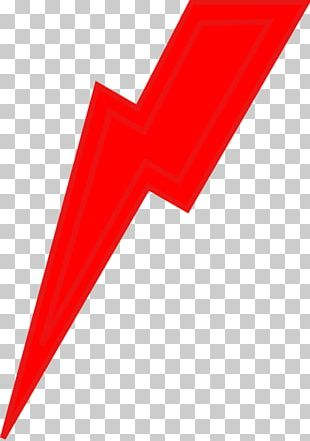 Lightning Red PNG