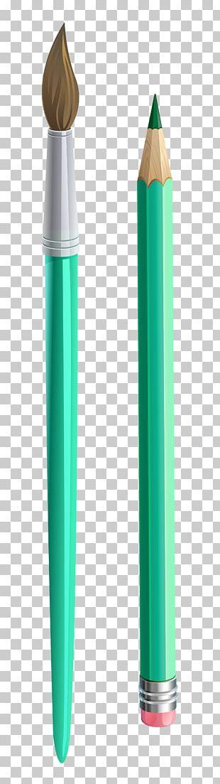 Pencil Paintbrush PNG