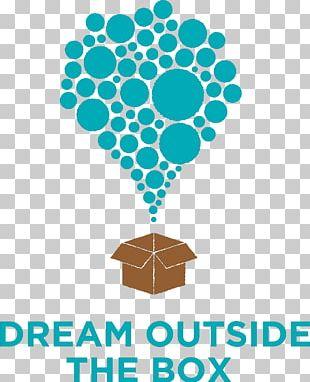 Dream Outside The Box Non-profit Organisation Brand Logo Human Behavior PNG
