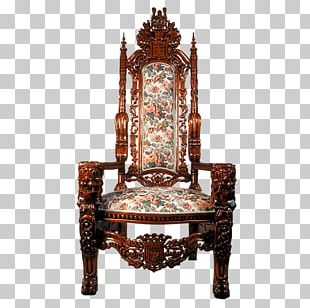 Pattern Card Chair Seat PNG