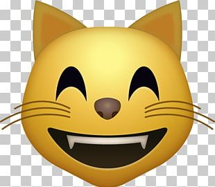 Cat Face With Tears Of Joy Emoji Smile PNG