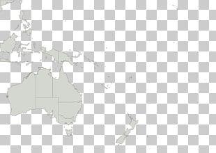Papua New Guinea Blank Map United States Australia PNG