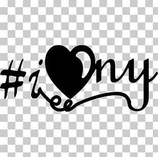 Sticker City I Love New York Brand Text PNG