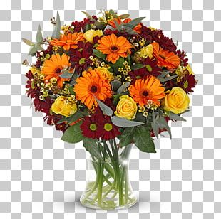 Flower Bouquet Rose Red Cut Flowers PNG