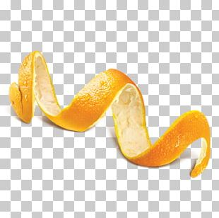 Orange Juice Peel Cocktail PNG