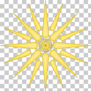 Vergina Sun Macedonia Argead Dynasty Solar Symbol PNG