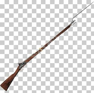 American Revolutionary War Brown Bess Flintlock Weapon PNG