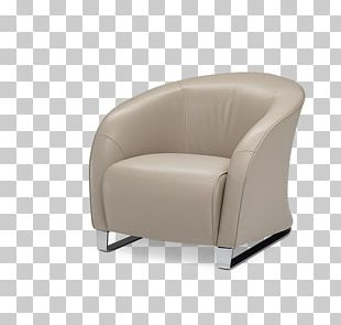 Armrest Wing Chair Natuzzi Club Chair Design PNG