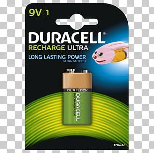 Battery Charger Nine-volt Battery Duracell Nickel–metal Hydride Battery Rechargeable Battery PNG
