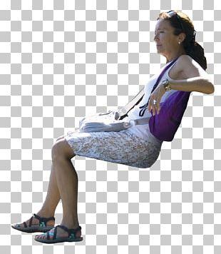 Sitting 3D Computer Graphics Human Leg PNG
