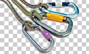 Lightning Rod Fall Arrest Fall Protection Carabiner Steeplejack PNG