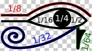 Ancient Egypt Rhind Mathematical Papyrus Eye Of Horus Egyptian Fraction PNG
