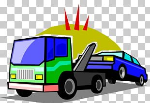 Car Tow Truck Towing Vehicle Breakdown PNG