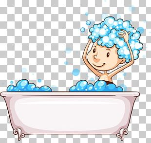 Bathing Bubble Bath Stock Photography Illustration PNG