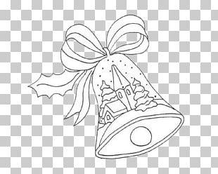 Christmas Drawing Coloring Book Bell Santa Claus PNG