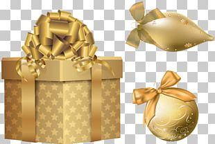 Christmas Gift Silver PNG