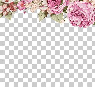 Paper Flower Painting Illustration PNG