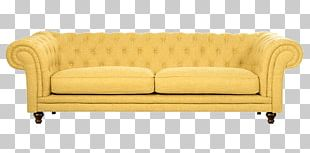 Yellow Couch Table Sofa Bed Mustard PNG