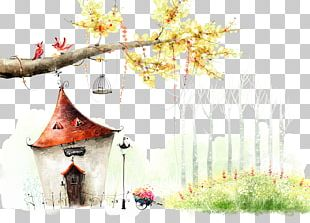 Fairy Tale House High-definition Television PNG