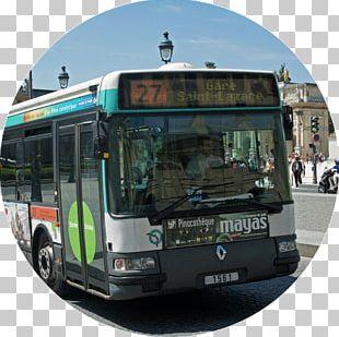 Paris Tour Bus Service Public Transport Villejuif PNG