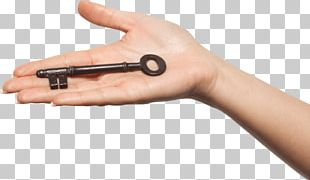 Hand Vintage Key PNG