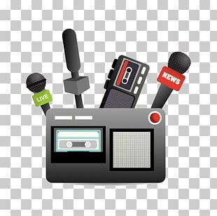 Microphone Broadcasting News Journalism PNG