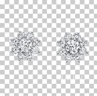 Earring Diamond Cut Jewellery Carat PNG