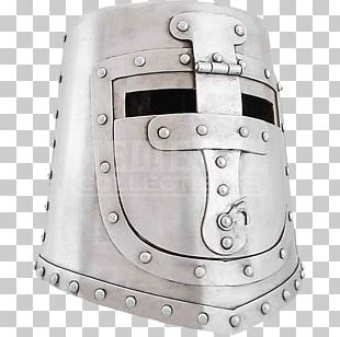 Middle Ages Crusades Great Helm Knights Templar PNG