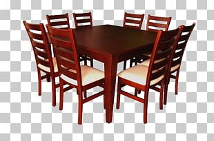 Table Chair Dining Room Furniture Wood PNG