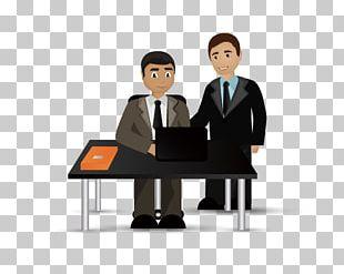 Business Cartoon Illustration PNG