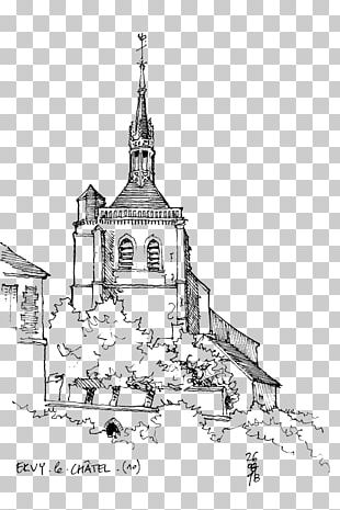 Line Art Architecture Drawing Sketch PNG