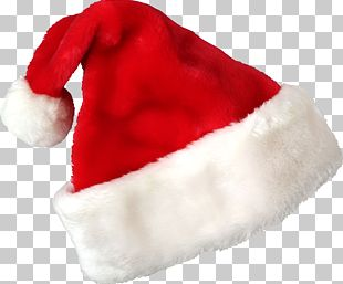 Santa Claus Hat Christmas Gift Cap PNG