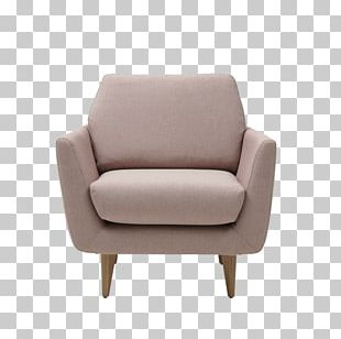 Club Chair Couch Armrest Living Room PNG