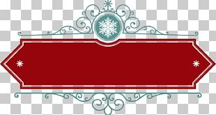 Red Banner Tag PNG