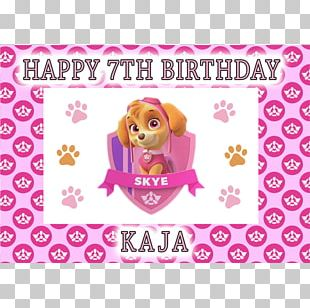 Patrol Dog Puppy Canidae Birthday PNG