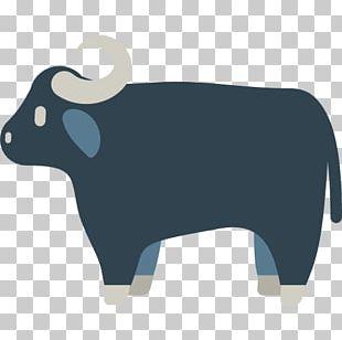 Cattle Water Buffalo Ox Emojipedia PNG