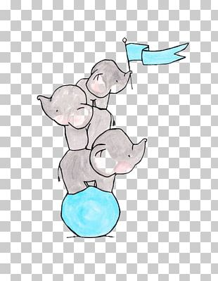 Drawing Elephant Cuteness Sketch PNG