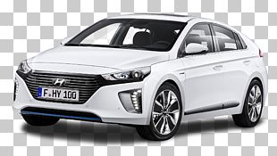 Hyundai Ioniq Hybrid Toyota Prius Car Electric Vehicle PNG