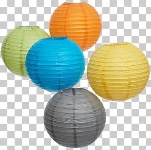 Paper Lantern Party Light Fixture PNG