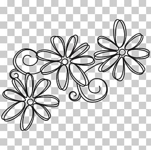 Flower Black And White Drawing Visual Arts PNG