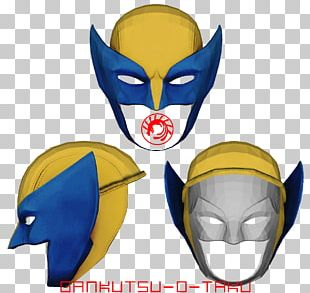 Wolverine X-23 Mask Headgear Paper Model PNG