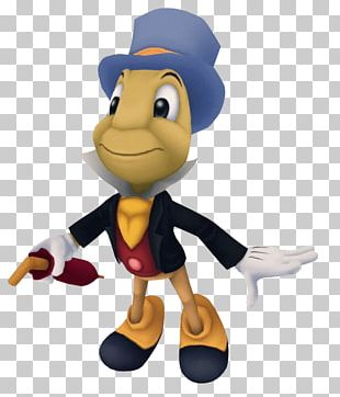 Jiminy Cricket Kingdom Hearts HD 1.5 Remix Minnie Mouse Donald Duck Geppetto PNG