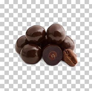 Chocolate-covered Coffee Bean Espresso Cafe Chocolate Truffle PNG