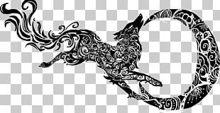 Gray Wolf Tribe Tattoo PNG