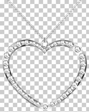 Frame Heart Silver PNG