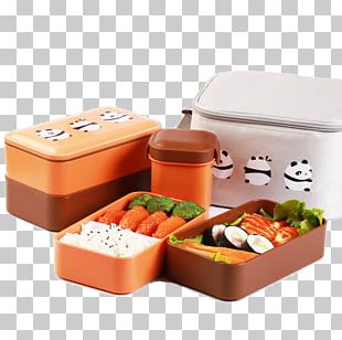 Japanese Cuisine Bento Meal Box PNG